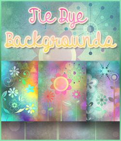 Tie-Dye Backgrounds