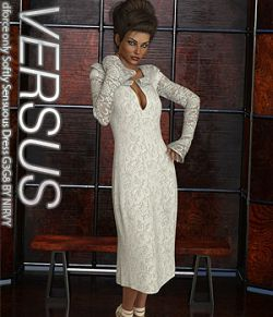 VERSUS- dforce only Softly Sensuous Dress G3G8