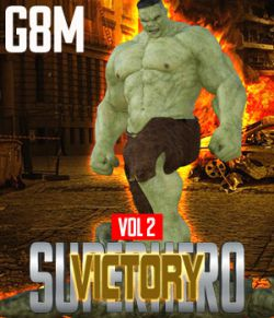 SuperHero Victory for G8M Volume 2
