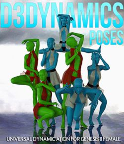 D3Dynamics Poses Volume 1