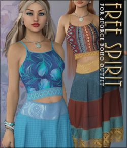Free Spirit for dForce Boho Outfit