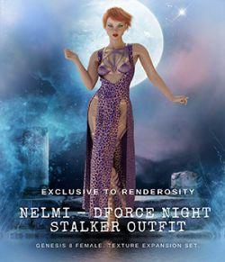NELMI-dForce Night Stalker Textures for Genesis 8 Females