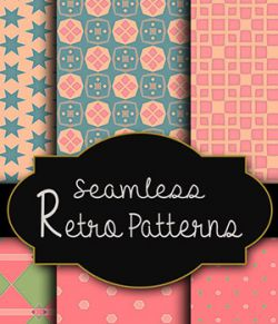 MR-Seamless Retro Patterns