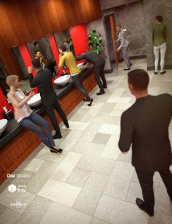 The Executive Restroom Poses for Genesis 8