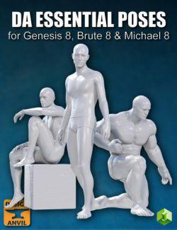 DA Essential Poses for Genesis 8 Male