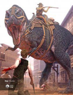 Tyrannosaurus Rex 3 Saddles and Poses
