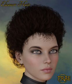 Prae-Eleanor Hair G3/G8 Daz