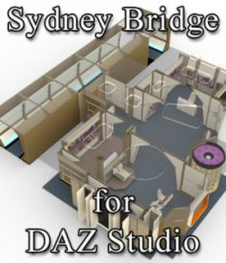 Sydney Bridge for DAZ Studio