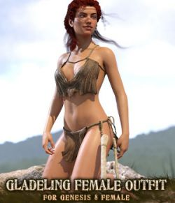 Gladeling Female Outfit for G8F