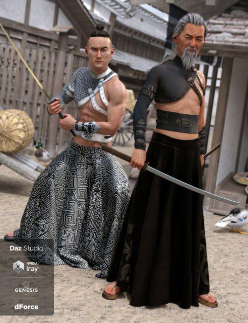 dForce BlackGuard Outfit Textures