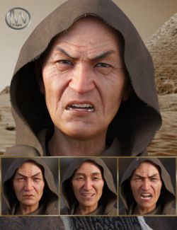 Wise- Expressions for Genesis 8 Male and Mr Woo 8