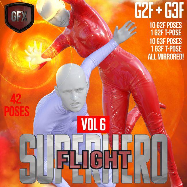 SuperHero Flight for G2F and G3F Volume 6