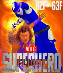 SuperHero Flight for G2F and G3F Volume 6
