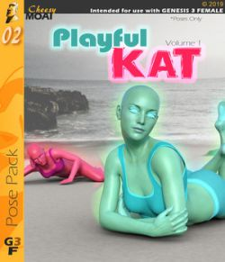 Playful Kat v01 : By CheesyMoai for G3F