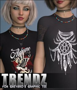 Trendz for Greybro's Graphic Tee G8F