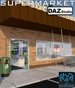 Supermarket for Daz Studio