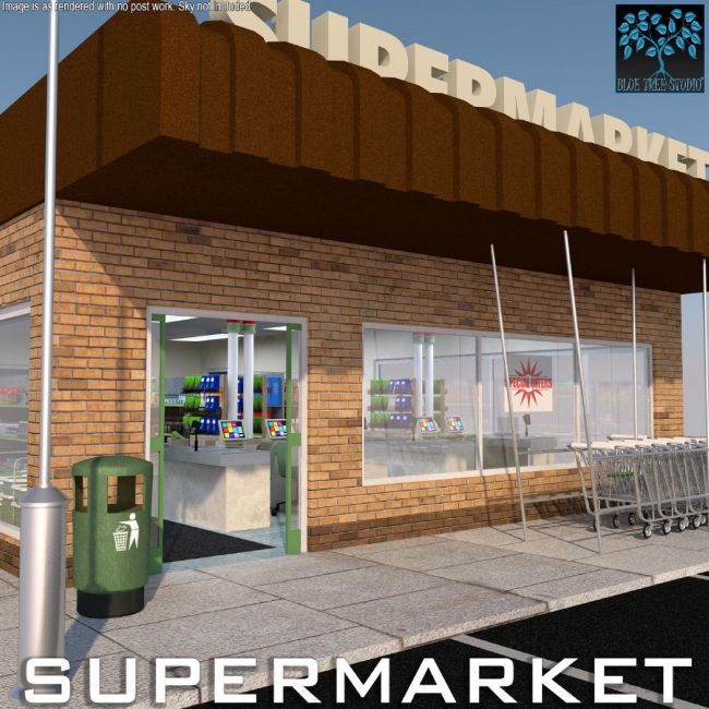 Supermarket for Poser