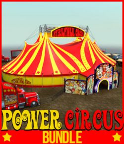 POWER CIRCUS BUNDLE for DS Iray