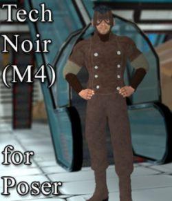 Tech Noir M4 for Poser