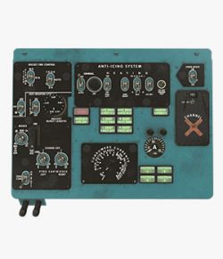 Mi-8MT Mi-17MT Left Overhead Panels Board English 2- Extended License