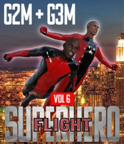SuperHero Flight for G2M and G3M Volume 6
