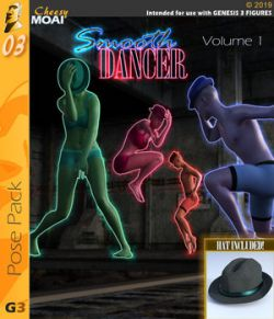 Smooth Dancer v01 : By CheesyMoai for G3F & G3M
