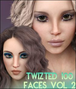Twizted 100 Faces Volume 2 for Genesis 8 Female