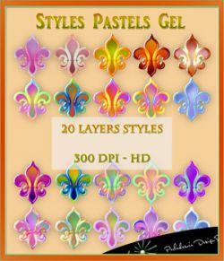 Styles Pastels Gel