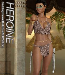 HEROINE- Gladeling Female Outfit for G8F