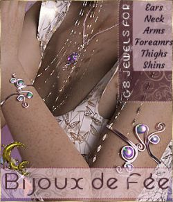 Bijoux de Fee- Jewels for G8- DAZ