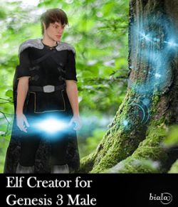 Elf Creator for Genesis 3 Male