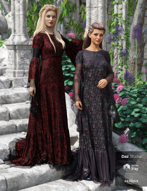 Rochelle Gown: Captivating