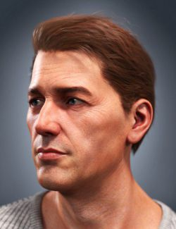 SP Hair 004 for Genesis 3 and 8 Male(s)