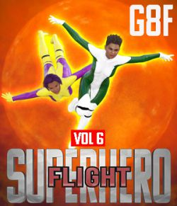 SuperHero Flight for G8F Volume 6