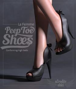PeepToe Shoes for La Femme