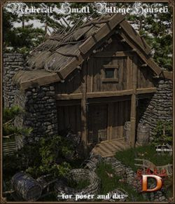 Medieval Small Village House 6