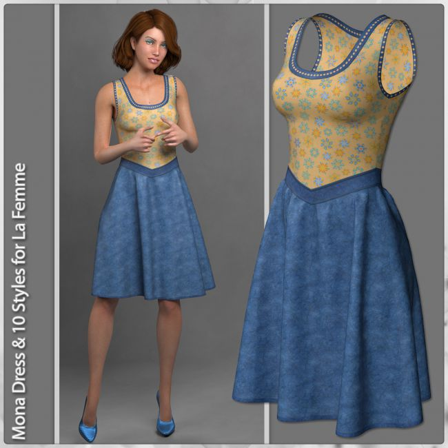 Mona Dress and 10 Styles for La Femme
