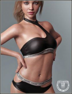 A-Sym Sporty Lingerie for Genesis 8 Female(s)