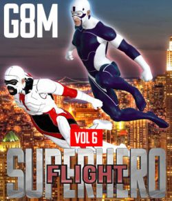 SuperHero Flight for G8M Volume 6