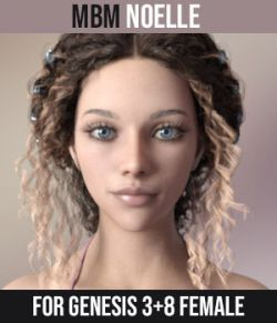 MbM Noelle for Genesis 3 & 8 Female