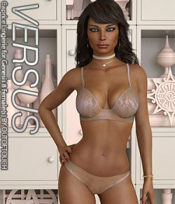 VERSUS- Caprice Lingerie for Genesis 8 Females