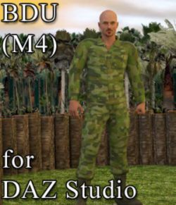 BDU for M4 in DAZ Studio