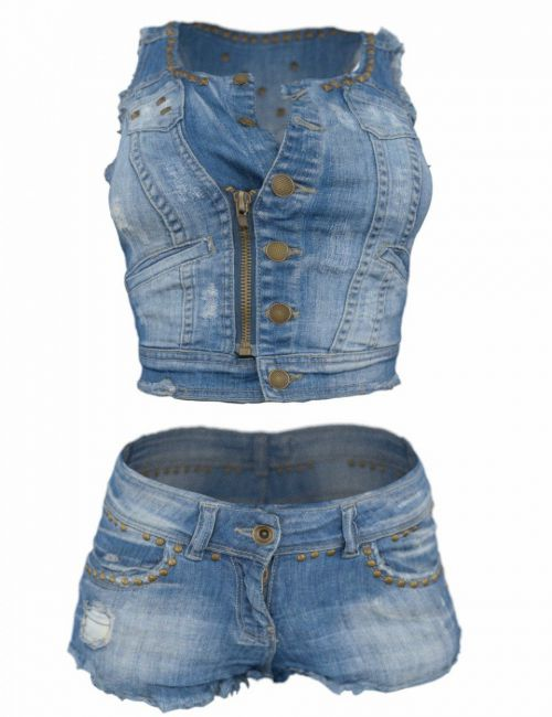 FBX - Studded Jeans Outfit