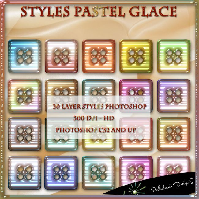 Styles Pastel Glace