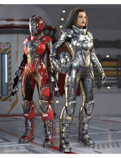 Galactic Sci-Fi Suit for Genesis 8 Female(s)