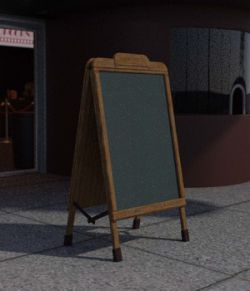 Street Blackboard - Extended License