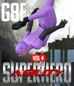 SuperHero Agility for G8F Volume 4