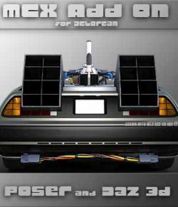 MCX Charger Add on for Delorean DMC-12