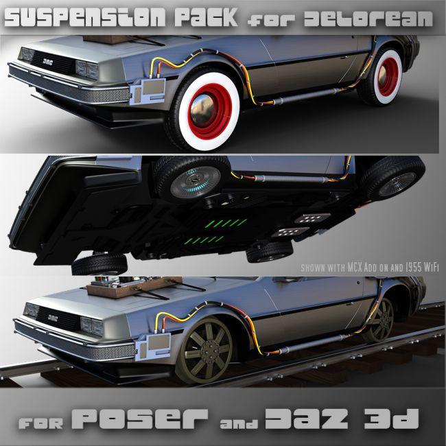 Suspension Kit for Delorean MDC-12
