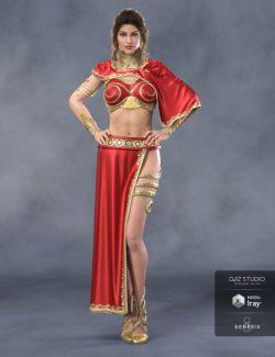 dForce Rebel Princess for Genesis 8 Female(s)